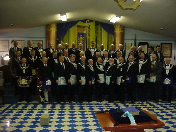Institution of Lodge